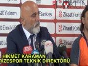 Çaykur Rizespor - Galatasaray maçının ardından