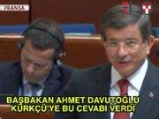Başbakan Davutoğlu'nun Strasbourg cevabı