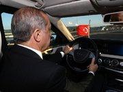 Cumhurbaşkanı Erdoğan'dan test sürüşü