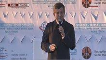 Başbakan Davutoğlu Körfez Köprüsü töreninde konuştu
