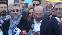 Dündar ve Gül'den duruşma sonrası açıklama