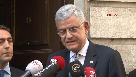 Tüsiad'ı ziyaret eden AB bakanı Bozkır'dan vize açıklaması