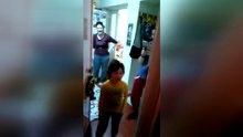 Özel harekat polisi ailesine kavuştu