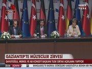 Davutoğlu ve Merkel'den ortak açıklama - 2.Kısım