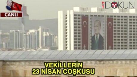 23 Nisan'da Ankara şen