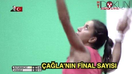 Çağla WTA'de tarih yazdı
