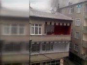 Hadımköy'de beş katlı binada yangın