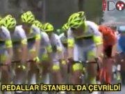 İstanbul'daki bisiklet şöleninden en ilginç anlar