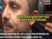 Mustafa Şentop: Bizim taslaklarımızda laiklik var