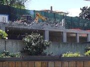 Rıza Sarraf'ın villasındaki kaçak bölümler yıkıldı