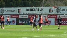 Beşiktaş'ın idmanında gerginlik