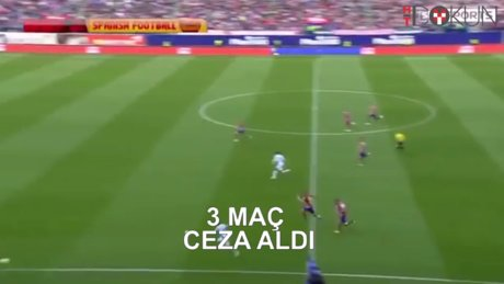Simeone 3 maç ceza aldı