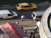 Alkollü sürücü polise davul tokmağı ile saldırdı
