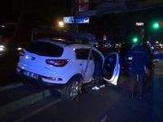 Ferhat Göçer'in bulunduğu araç kazaya karıştı