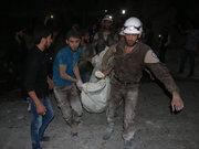 Rus jeti Halep'te sahra hastanesine saldırdı