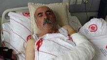 Muhtar, 72 yaşındaki köylüyü sopayla dövdü