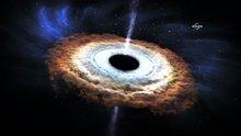 Uzaydaki büyük çarpışma dev bir karadelik doğurdu
