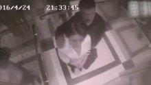 Asansörde tacize uğrayan kadın bakın ne yaptı!