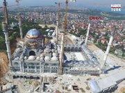 Havadan görüntülerle Çamlıca camii