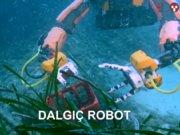 Dalgıç robot kalıntıları çıkardı