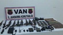 PKK'nın başkale ilçesindeki cephaneliği ele geçirildi