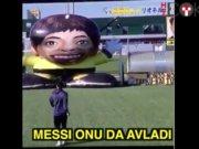 Messi dünyanın en 'büyük' kalecisine karşı
