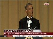 ABD Başkanı Obama'dan esprili veda!