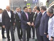 Taksime ilk gelen Beşiktaş belediye başkanı Murat Hazinedar oldu