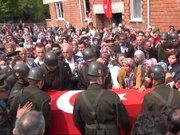 Zonguldak Şehit Uzman Çavuş Burak Saraçlı Zonguldak'ta toprağa verildi