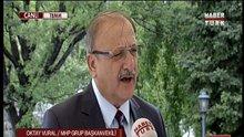 MHP Grup Başkanvekili Oktay Vural HABERTÜRK Tv'ye konuştu