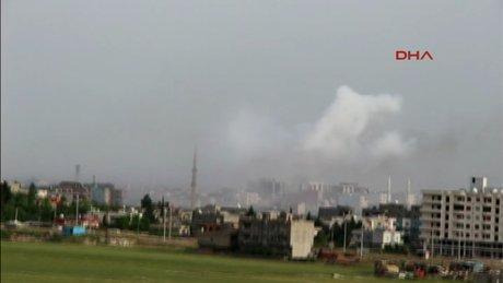 Nusaybin'de patlama ve silah sesleri