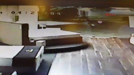 Bağdat caddesi'ndeki kaza anı kamerada