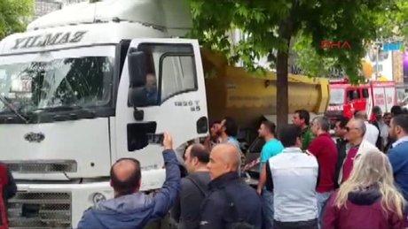 İstanbul Şaşkınbakkal'da trafik kazası