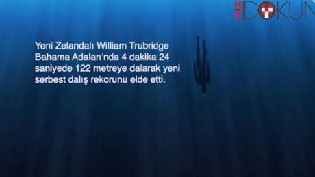 Rekortmen dalgıç William Thubridge (Animasyon)