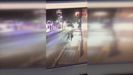 Amerikalı kıza tecavüz iddasıyla tutuklanan şüpheli kamera görüntülerinden tespit edilmiş