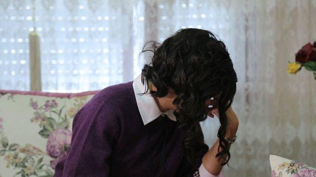 Kaybettiği babasını hatırlayan Nermin Hanım'ın duygusal anları
