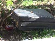 Aksaray'da cami bahçesindeki şüpheli çanta korkuttu