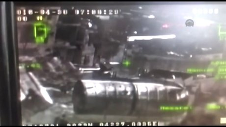 Teröristlerin vurulma anı kameraya yansıdı