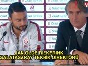 Galatasaray - Çaykur Rizespor maçının ardından