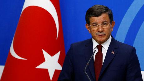 Başkan Ahmet Davutoğlu'nun basın açıklaması