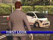 GTA 5'te Google sürücüsüz aracı