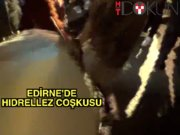 Edirne'de hıdrellez coşkusu