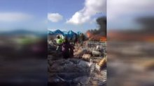 Rejim uçakları Sarmada kasabasını vurdu 60 ölü