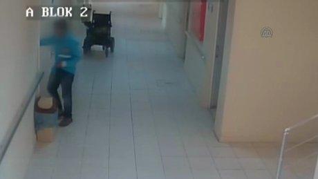 Huzurevinde hırsızlık yaptığı iddia edilen çocuk tutuklandı