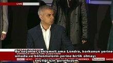 Londra'da ilk kez Müslüman belediye başkanı seçildi