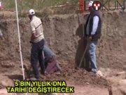 İzmir'deki 5 bin yıllık kafatası, tarihi değiştirecek