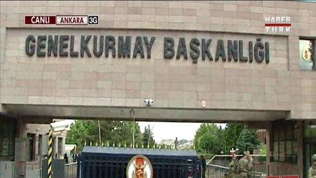 Davutoğlu'nun vedasında ilk durak Genelkurmay