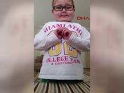 Lösemili Mustafa'nın videosu duygulandırdı