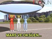 Mars'ta oksijen bulunursa...