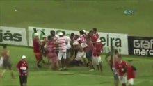 Brezilya'da olaylı maç